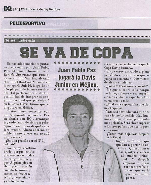 Supertenis Escuelas Noticias